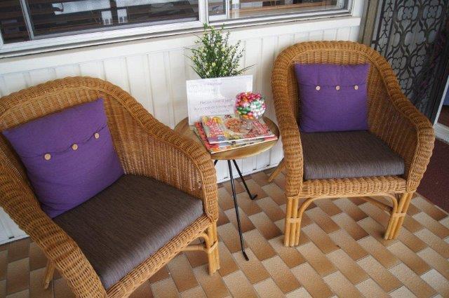 Veronica Mander, Homeopath Brisbane waiting area