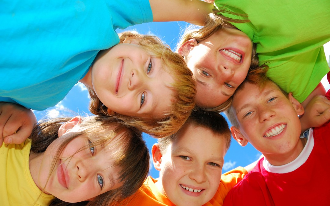 happy children with homeopathy
