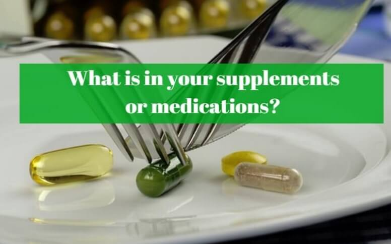 What is in supplements?