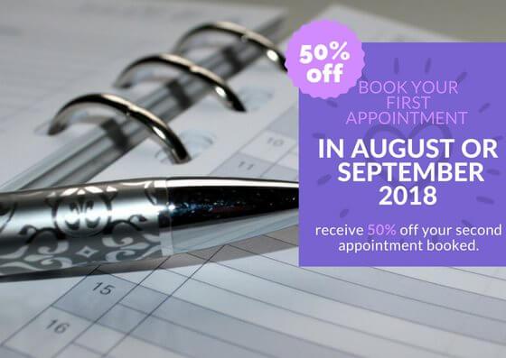 BOOK IN August-September offer