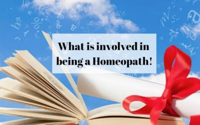 What is involved in being a Homeopath!