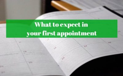 Your first appointment – what to expect
