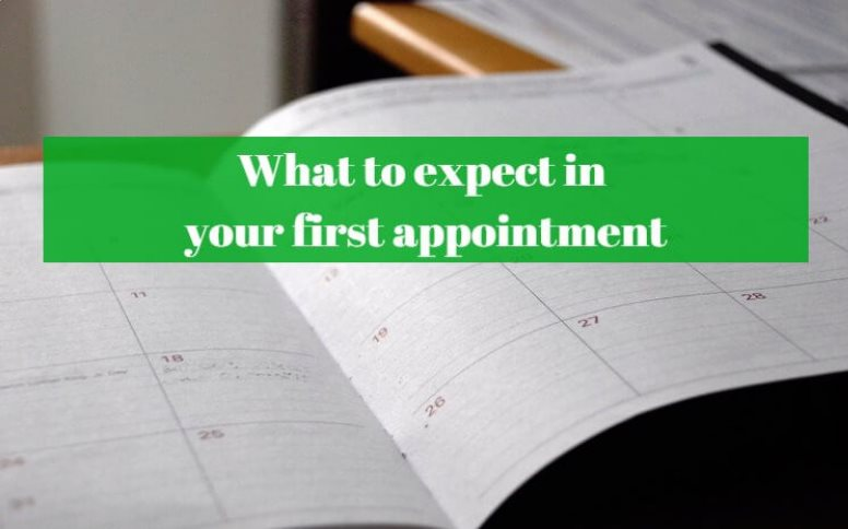 what to expect in your first appointment